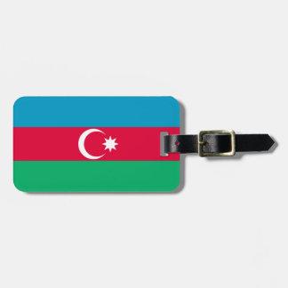 Etiqueta De Bagagem Bandeira patriótica de Azerbaijan