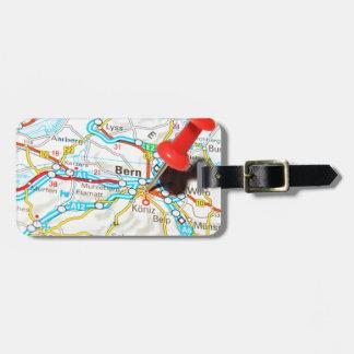 Etiqueta De Bagagem Berna, suiça