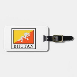 Etiqueta De Bagagem Bhutan