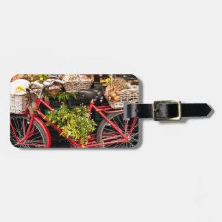 Etiqueta De Bagagem Bicicleta da colheita