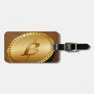 Etiqueta De Bagagem Bitcoin 2