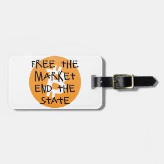 Etiqueta De Bagagem Bitcoin - livre a extremidade do mercado o estado
