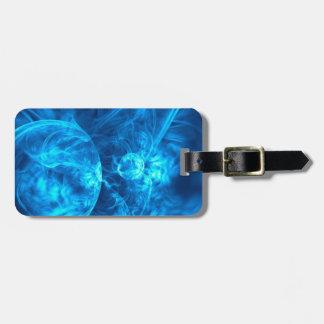 Etiqueta De Bagagem bolhas azuis
