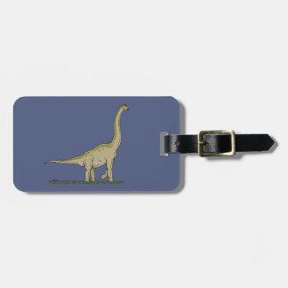 Etiqueta De Bagagem Brachiosaurus