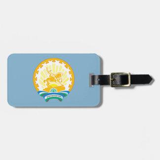Etiqueta De Bagagem Brasão de Bashkortostan