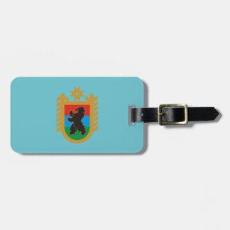 Etiqueta De Bagagem Brasão de Carélia