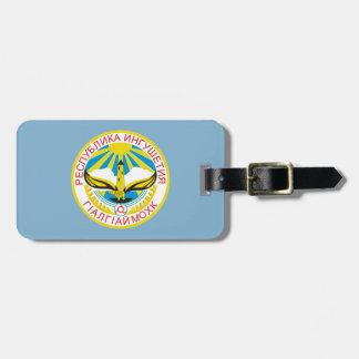 Etiqueta De Bagagem Brasão de Ingushetia