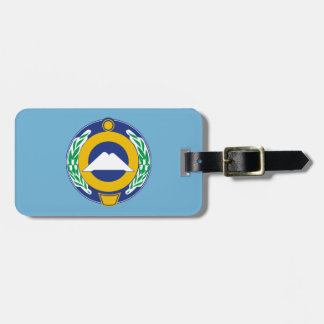 Etiqueta De Bagagem Brasão de Karachay-Cherkessia