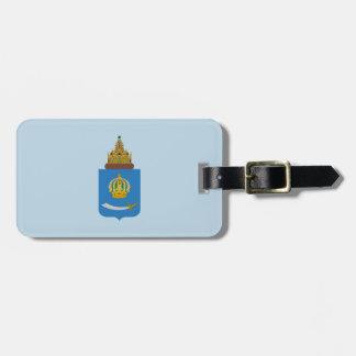 Etiqueta De Bagagem Brasão do oblast de Astracã