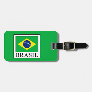 Etiqueta De Bagagem Brasil