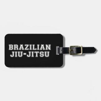 Etiqueta De Bagagem Brasileiro Jiu Jitsu