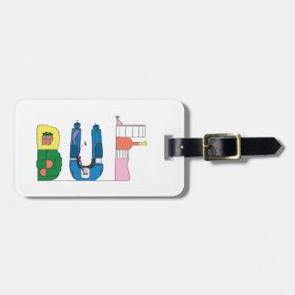 Etiqueta De Bagagem BÚFALO do Tag   da bagagem, NY (BUF)