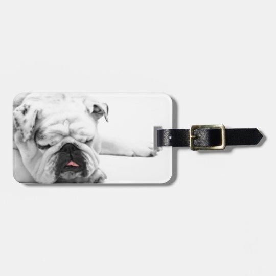 Etiqueta De Bagagem Bulldog