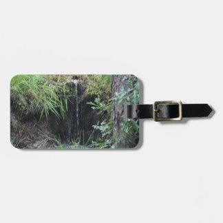 Etiqueta De Bagagem Cachoeira da floresta