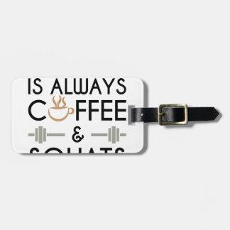 Etiqueta De Bagagem Café & ocupas 2