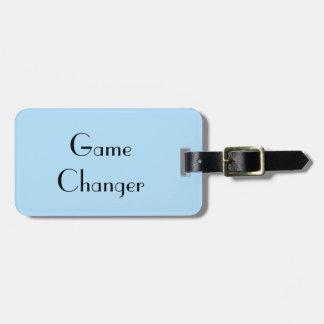Etiqueta De Bagagem Cambiador do jogo