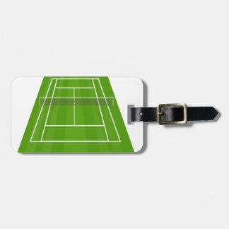 Etiqueta De Bagagem Campo de ténis