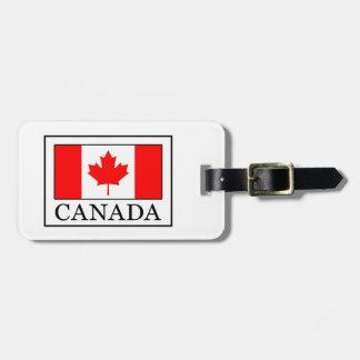 Etiqueta De Bagagem Canadá