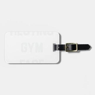 Etiqueta De Bagagem Cara de descanso do Gym
