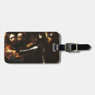 Etiqueta De Bagagem Caravaggio - tomada do cristo - trabalhos de arte