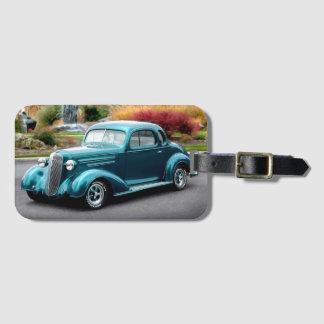 Etiqueta De Bagagem Carro 1936 do clássico de Chevrolet do cupé do hot