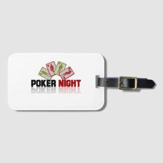 Etiqueta De Bagagem Casino do póquer
