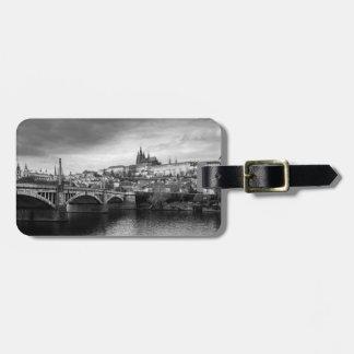Etiqueta De Bagagem Castelo de Praga