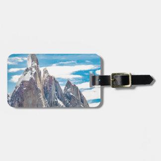 Etiqueta De Bagagem Cerro Torre - Parque Nacional Los Glaciares