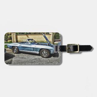 Etiqueta De Bagagem Chevrolet Corvette 1966
