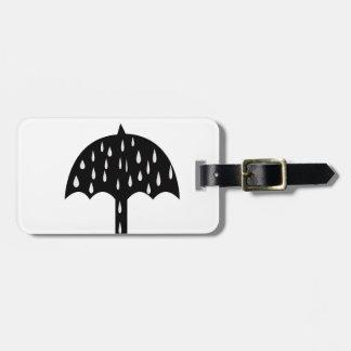 Etiqueta De Bagagem chuva do guarda-chuva