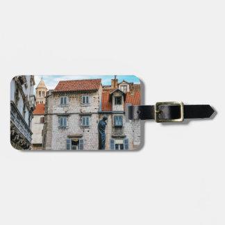 Etiqueta De Bagagem Cidade velha, separação, Croatia