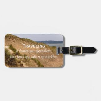 Etiqueta De Bagagem Citações do viagem