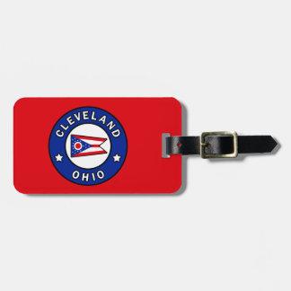 Etiqueta De Bagagem Cleveland Ohio