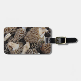 Etiqueta De Bagagem Cogumelos do Morel
