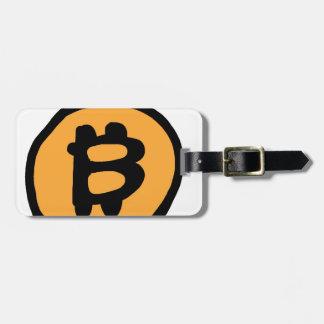 Etiqueta De Bagagem coleção do bitcoin