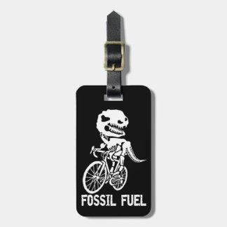 Etiqueta De Bagagem Combustível fóssil