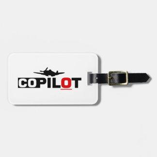 Etiqueta De Bagagem Copiloto