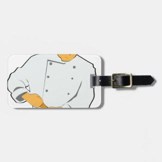 Etiqueta De Bagagem Cozinheiro chefe