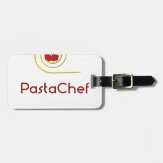 Etiqueta De Bagagem Cozinheiro chefe da massa