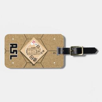 Etiqueta De Bagagem Cruzado Mk do ASL mim Tag da bagagem