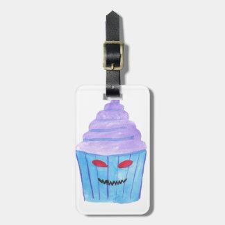 Etiqueta De Bagagem Cupcake possuído
