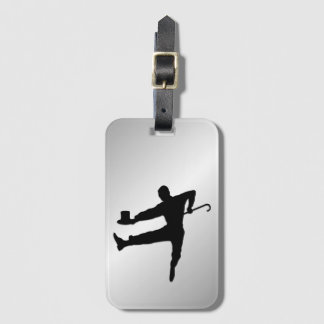 Etiqueta De Bagagem Dançarino de torneira