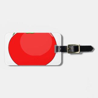Etiqueta De Bagagem Desenho do tomate