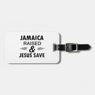 Etiqueta De Bagagem Design de Jamaica