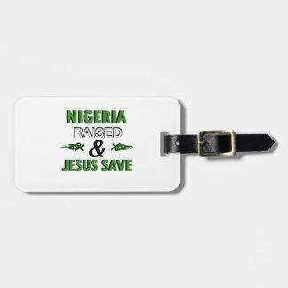 Etiqueta De Bagagem Design de Nigéria