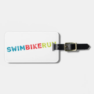 Etiqueta De Bagagem Design do Triathlon