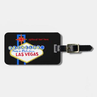 Etiqueta De Bagagem Despedida de solteiro Las Vegas Nevada