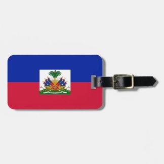 Etiqueta De Bagagem d'Haïti de Drapeau - bandeira de Haiti