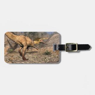 Etiqueta De Bagagem Dinossauro de Austroraptor