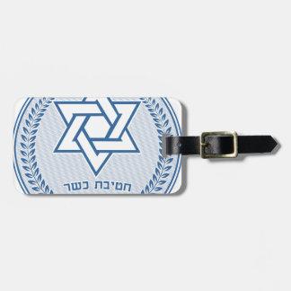 Etiqueta De Bagagem Divisão Kosher